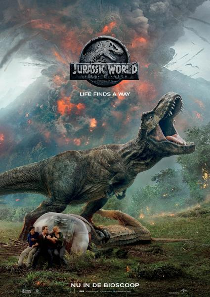 Poster van Jurassic World: Fallen Kingdom (EN)
