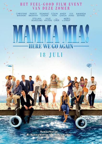 Poster van Mamma Mia! Here We Go Again (EN)