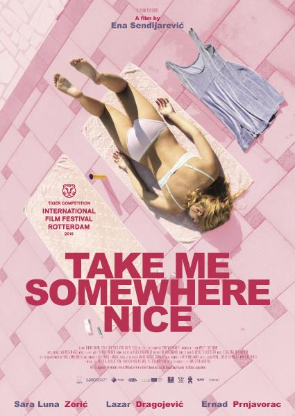 Poster van Take Me Somewhere Nice