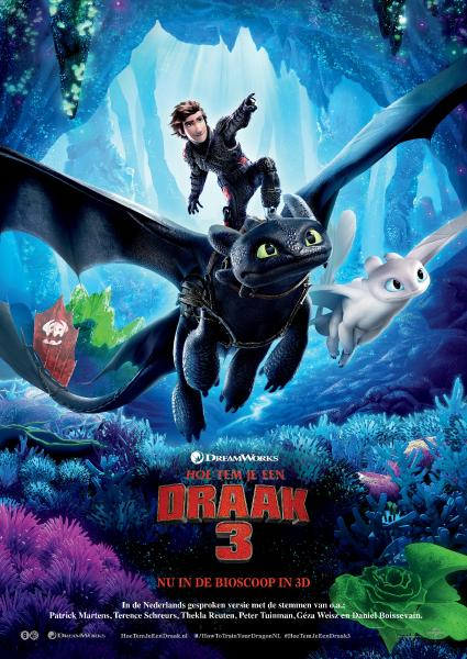 Poster van How To Train Your Dragon 3 (OV)