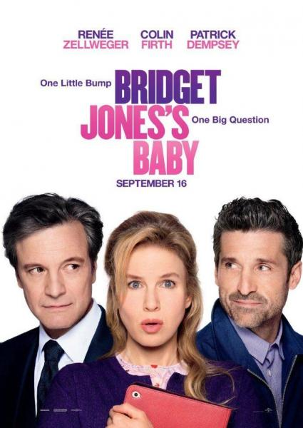 Poster van Bridget Jones's Baby (EN)