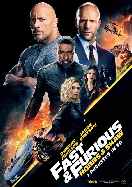 Fast and Furious Hobbs and Shaw.