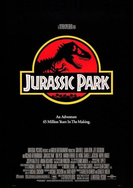 Jurassic Park. An adventure 65 million Years in the making.